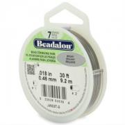 Beadalon 7 strand .018 x 30ft spool image